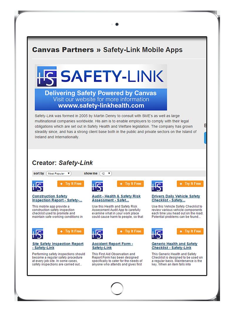 Canvas App Store